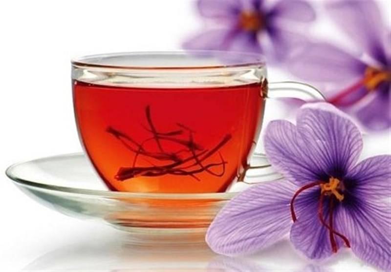 چای زعفران داری خواص جالبی است