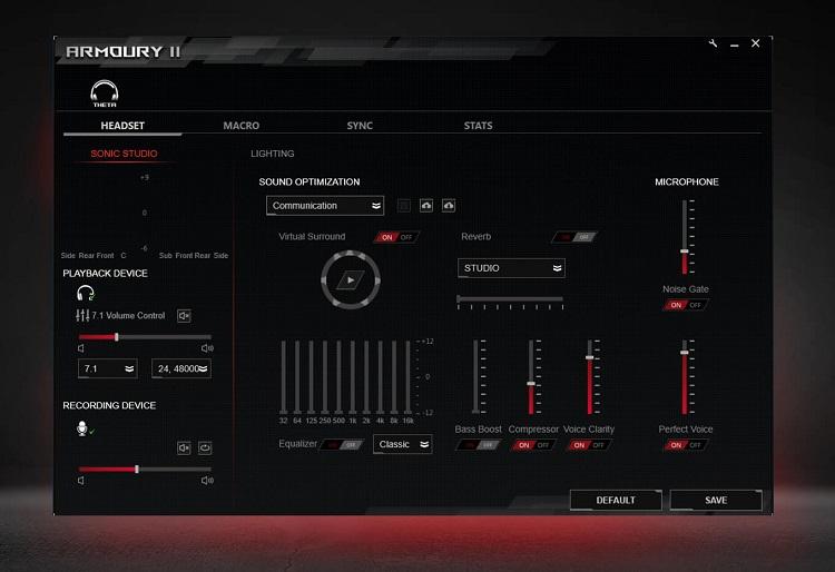 معرفی هدست گیمینگ ایسوس مدل ROG Theta 7.1