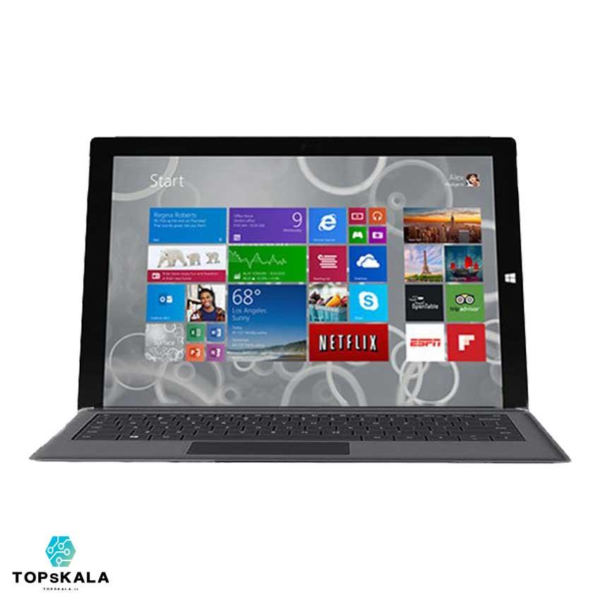 خرید سرفیس استوک مایکروسافت مدل Microsoft Surface Pro 3 دارای مهلت تست و گارانتی رایگان - محصول Microsoft - سرفیس پرو 3 مایکروسافت