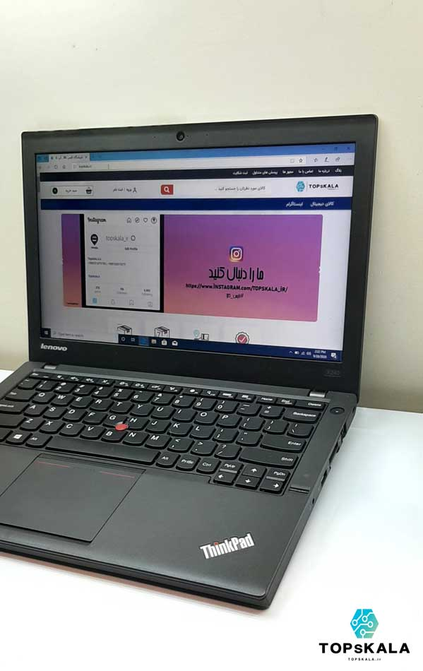 خرید لپ تاپ استوک لنوو مدل Lenovo ThinkPad X240 با مشخصات Intel Core i5 4300U - intel HD 4600 دارای مهلت تست و گارانتی رایگان/ محصول Lenovo سال 2014 - 2015
