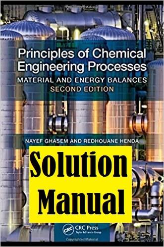 حل المسائل کتاب مهندسی شیمی نایف قاسم موازنه مواد و انرژی NAYEF GHASEM