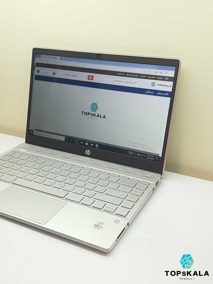 لپ تاپ استوک اچ پی مدل HP PAVILION 13 an107tu با مشخصات intel Core i5 1035G1 - intel UHD دارای مهلت تست و گارانتی رایگان / محصول HP
