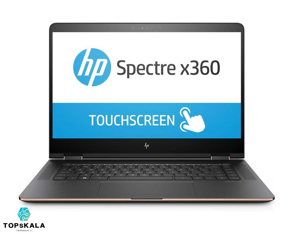 لپ تاپ استوک اچ پی مدل HP Spectre 15 BL090NZ با مشخصات intel Core i7 7500 - Nvidia Geforce 940MX دارای مهلت تست و گارانتی رایگان / محصول HP