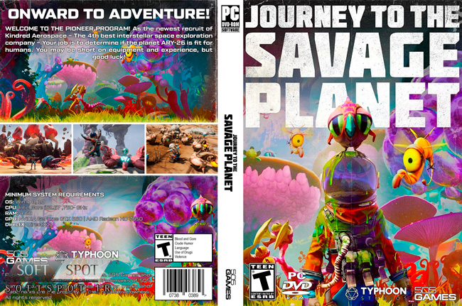 Journey to the Savage Planet Cover