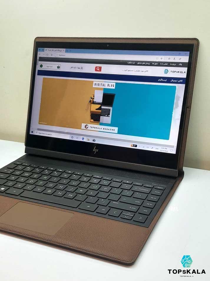 لپ تاپ استوک اچ پی مدل HP Spectre Folio 13-ak0xx با مشخصات intel Core i5 8200Y - intel UHD 615 دارای مهلت تست و گارانتی رایگان / محصول HP