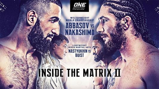 دانلود مسابقات وان سی | ONE Championship 119: Inside the Matrix 2