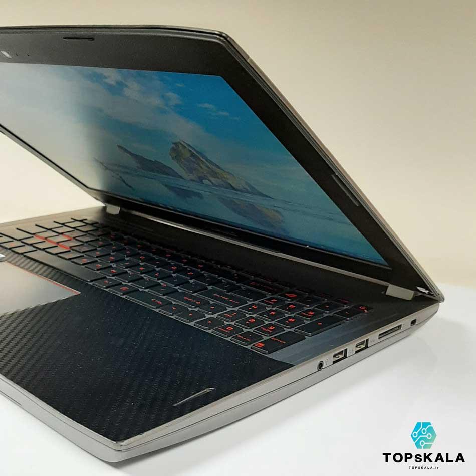 لپ تاپ استوک ایسوس مدل ASUS ROG STRIX GL502v با مشخصات intel Core i7 7700HQ - Nvidia GTX 1070 دارای مهلت تست و گارانتی رایگان / محصول ASUS