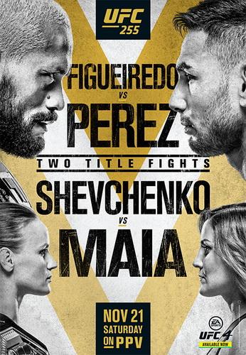 دانلود  یو اف سی   255 :  UFC 255: Figueiredo vs. Perez