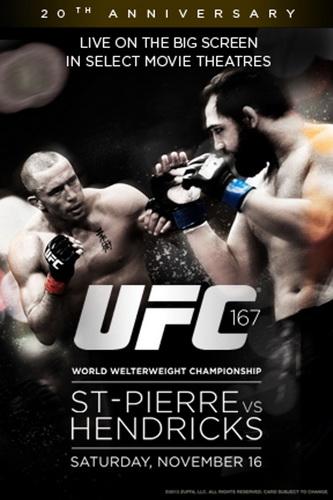 دانلود یو اف سی 167   UFC 167 : St-Pierre vs. Hendricks-نسخه ی 720p