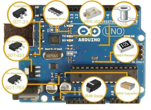 arduino parts diag