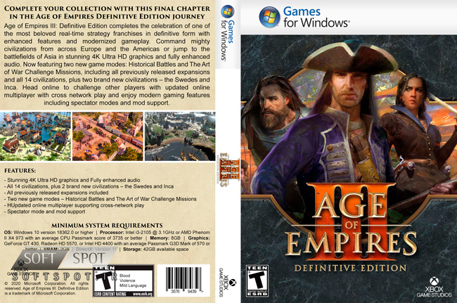 Age of Empires III Definitive Edition Cover