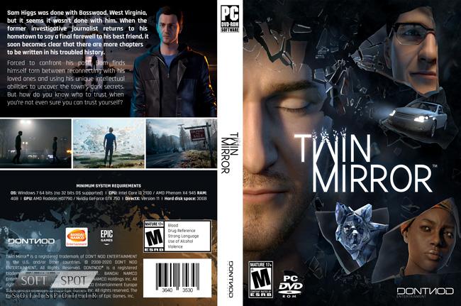 Twin Mirror Cover