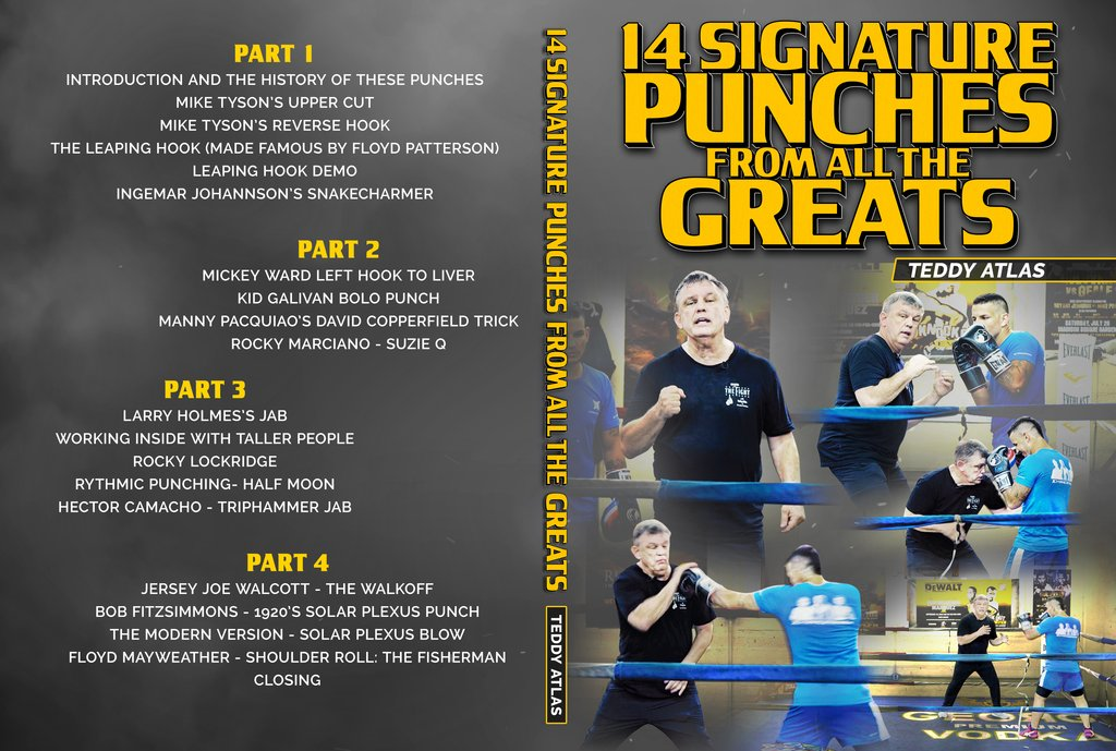 بسته ی اموزشی بوکس : 14Signature Punches from All the Greats by Teddy Atlas