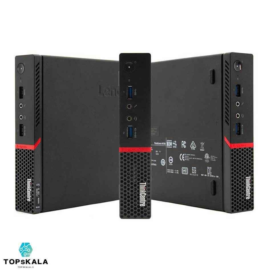 کامپیوتر استوک لنوو مدل LENOVO M700 Tiny با مشخصات پردازنده Intel Core i5 6400T و گرافیک Intel HD 530 دارای مهلت تست و گارانتی رایگان - محصول Lenovo