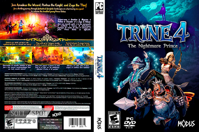 Trine 4 The Nightmare Prince Cover