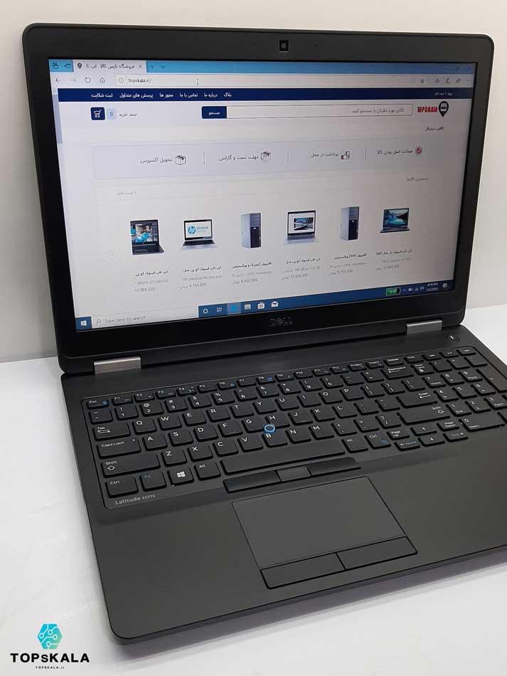 لپ تاپ استوک دل مدل Dell Latitude E5570 با مشخصات intel Core i7 6600 و AMD Radeon R7 M360