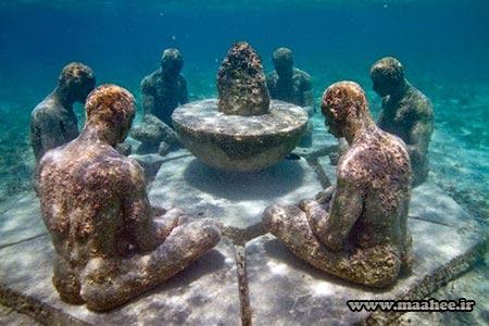 موزه ای عجیب و غریب زیر آب + تصاویر