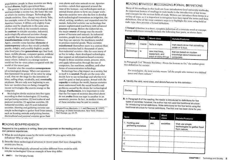 نمونه صفحه کتاب فوکوس آن ووکبیولری Focus on Vocabulary