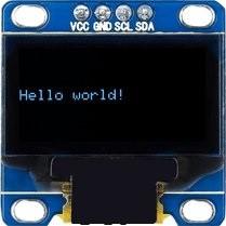 oled hello world