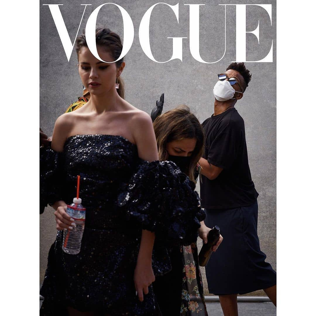 تازه منتشر شده مربوط به فتوشاپ های مجله Vogue