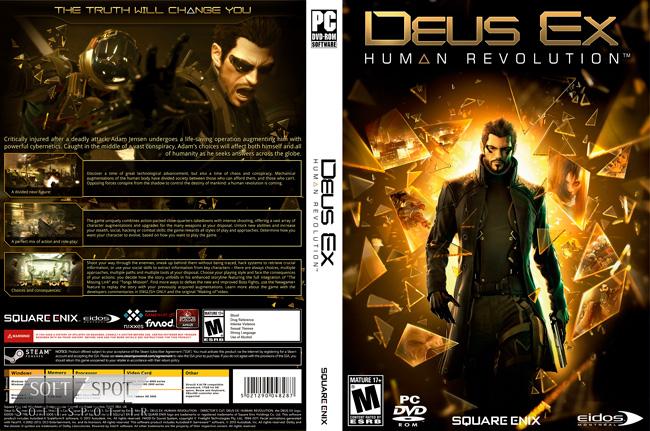 Deus Ex Human Revolution  Cover