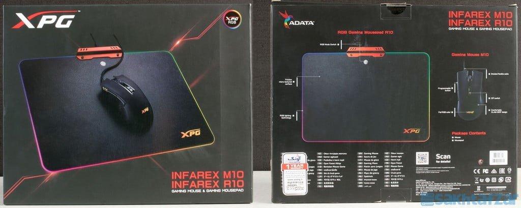 معرفی ماوس و ماوس پد INFAREX M10 و INFAREX R10