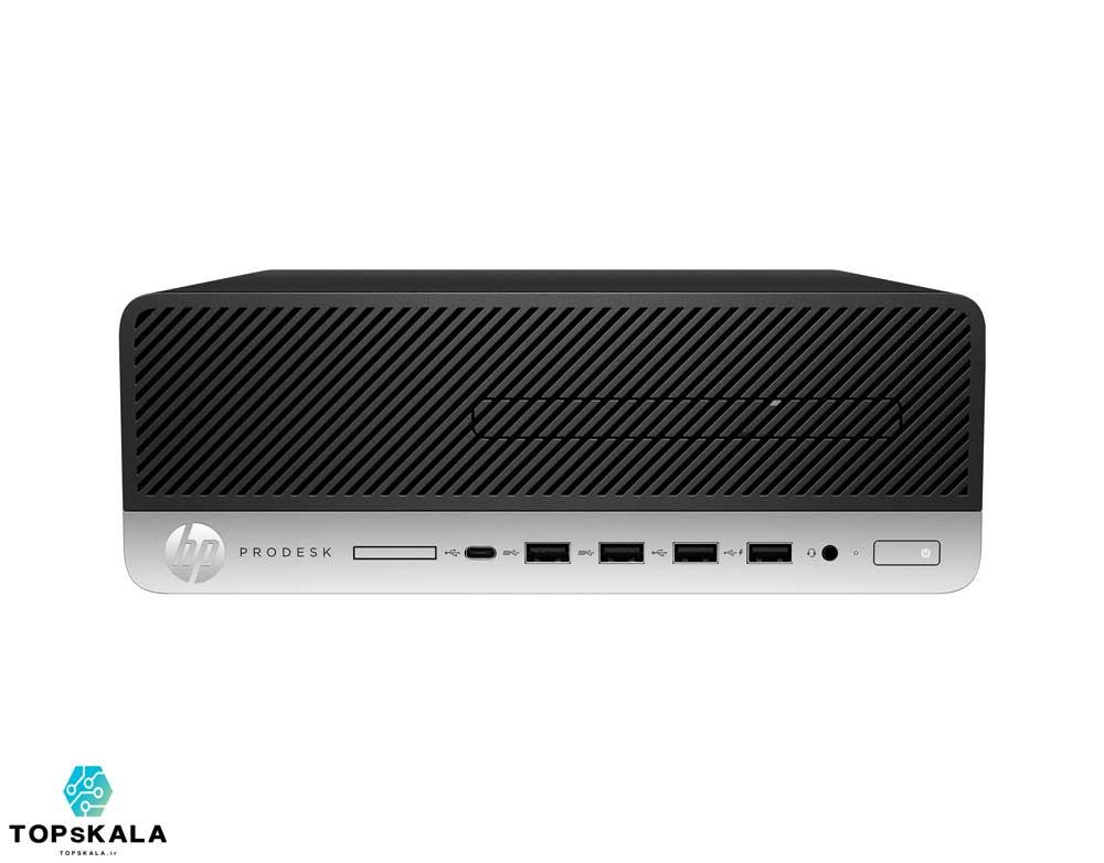 کامپیوتر آکبند اچ پی مدل HP Prodesk 600 G5 SFF با مشخصات پردازنده Intel Core i7 or Intel Core i5 9500 و گرافیک intel UHD 630 دارای مهلت تست و گارانتی رایگان - محصول HP