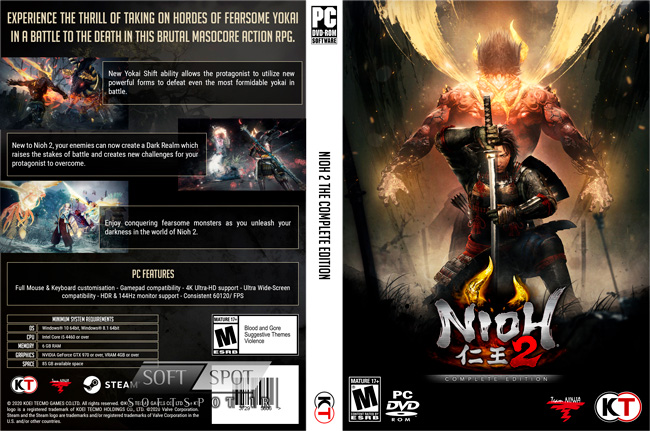 Nioh 2 The Complete Edition Cover