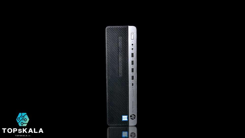 کامپیوتر آکبند اچ پی مدل HP EliteDesk 800 G5 SFF با مشخصات پردازنده intel Core i5 9400F و گرافیک nVidia NVS 310 دارای مهلت تست و گارانتی رایگان - محصول HP