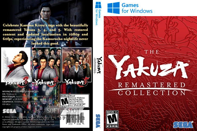 Yakuza Remastered Collection Cover