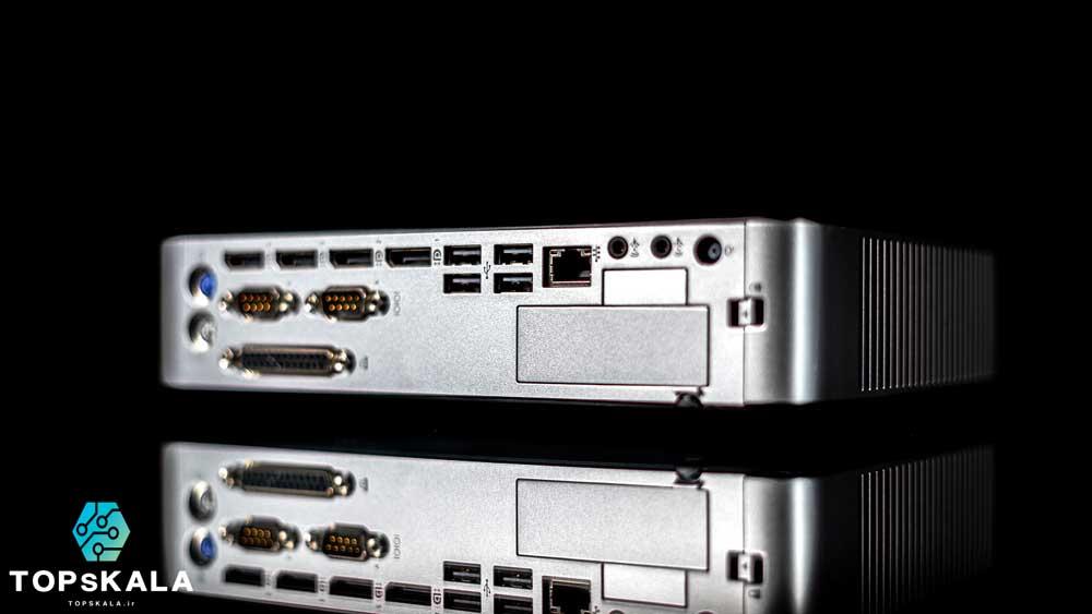 تین کلاینت آکبند اچ پی مدل HP T730 Thin Client با مشخصات پردازنده AMD RX 427BB و گرافیک AMD Radeon دارای مهلت تست و گارانتی رایگان - محصول HP