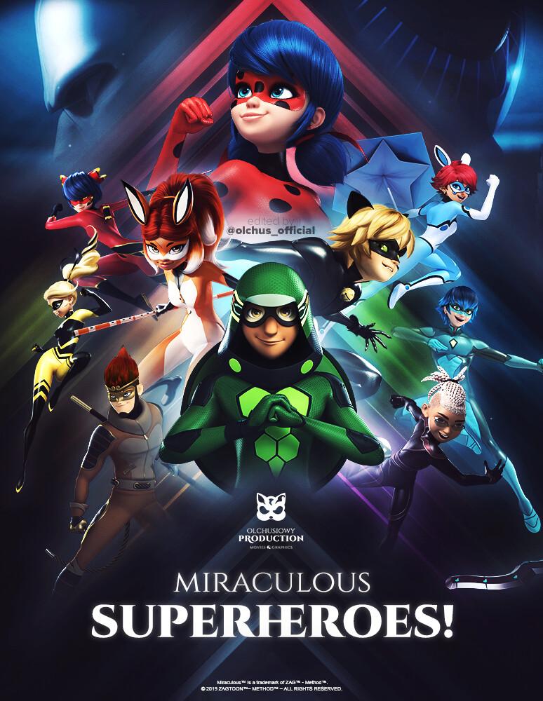 دانلود (کل) تمامی قسمت های میراکلس لیدی باگ Miraculous: Tales Of Ladybug & Cat Noir با دوبله فارسی و بدون سانسور