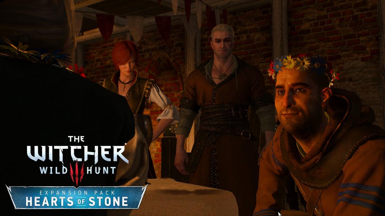 بازی Witcher 3 heart of stone geralt shani vlodimir master mirror