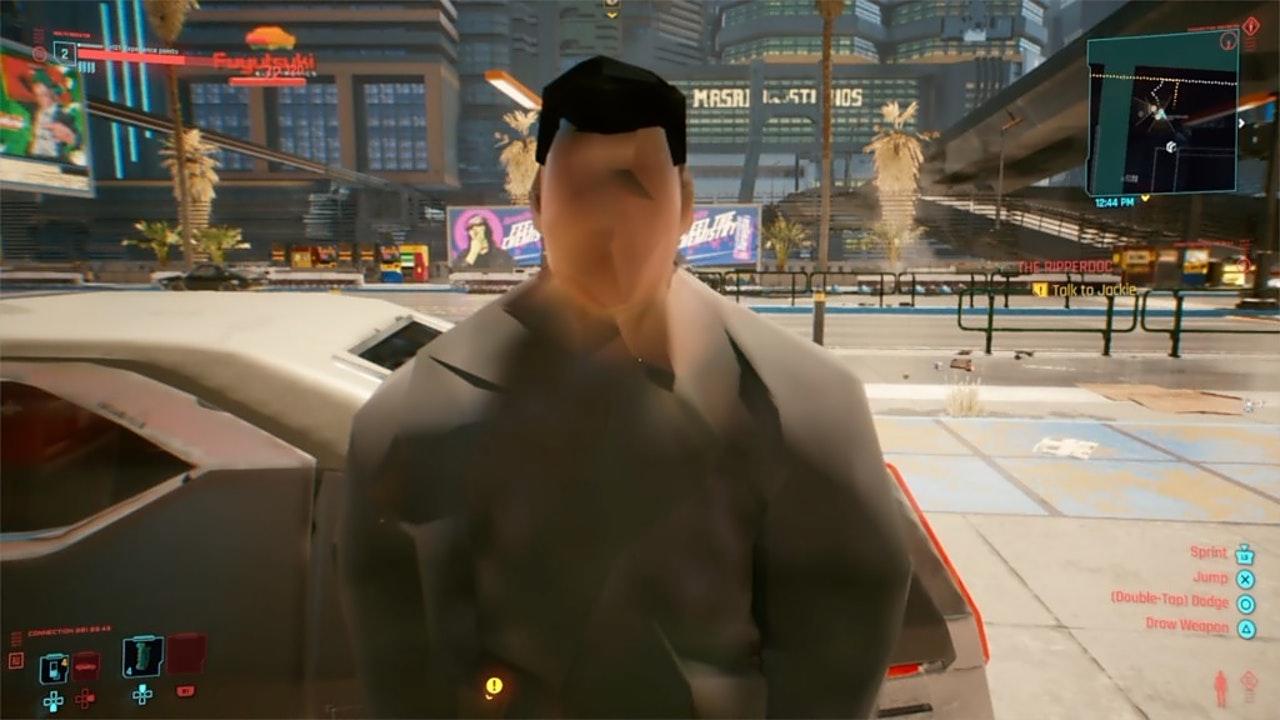 Cyberpunk 2077 bug glitch