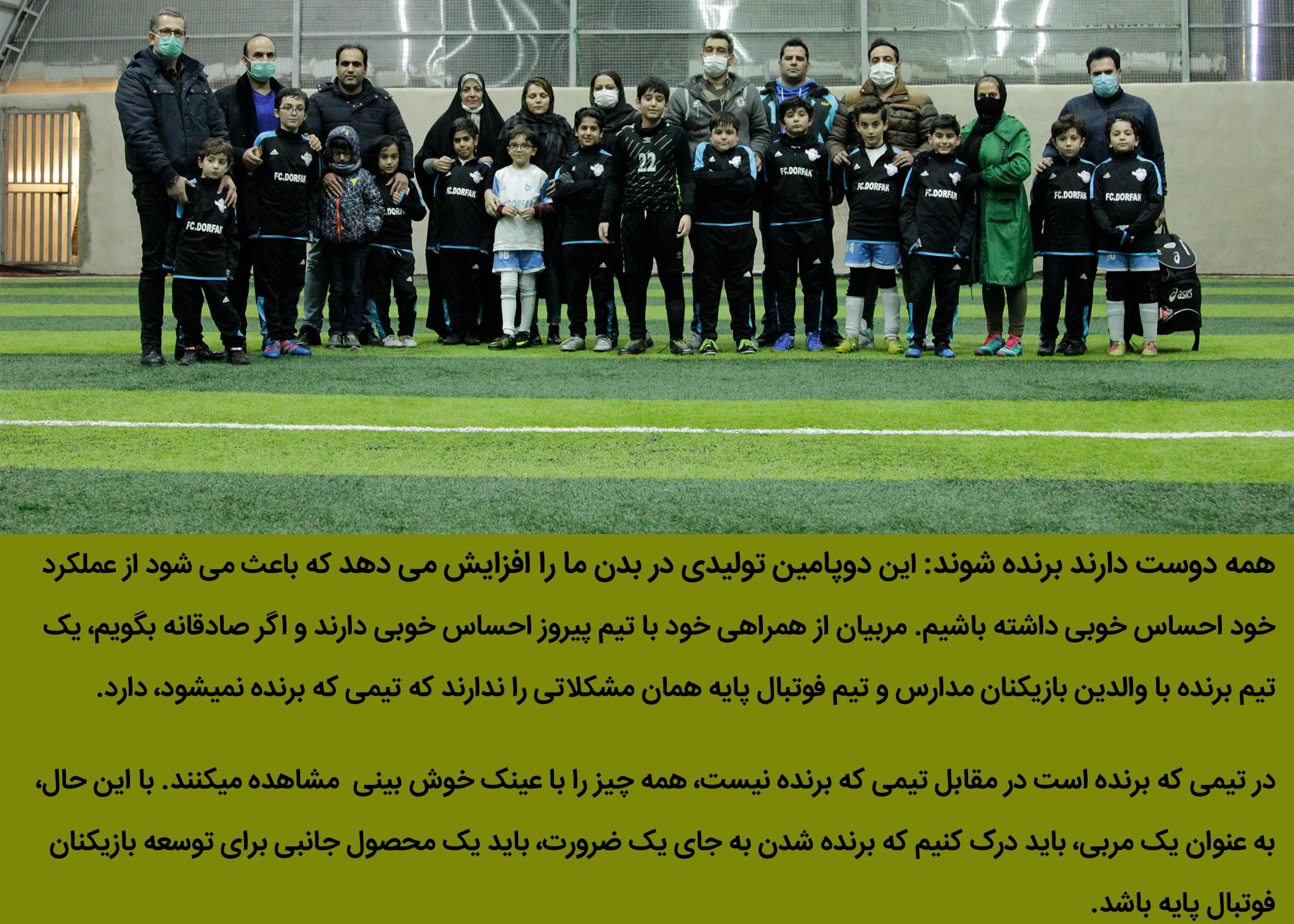 باشگاه و مدرسه فوتبال درفک البرز FCDORFAK