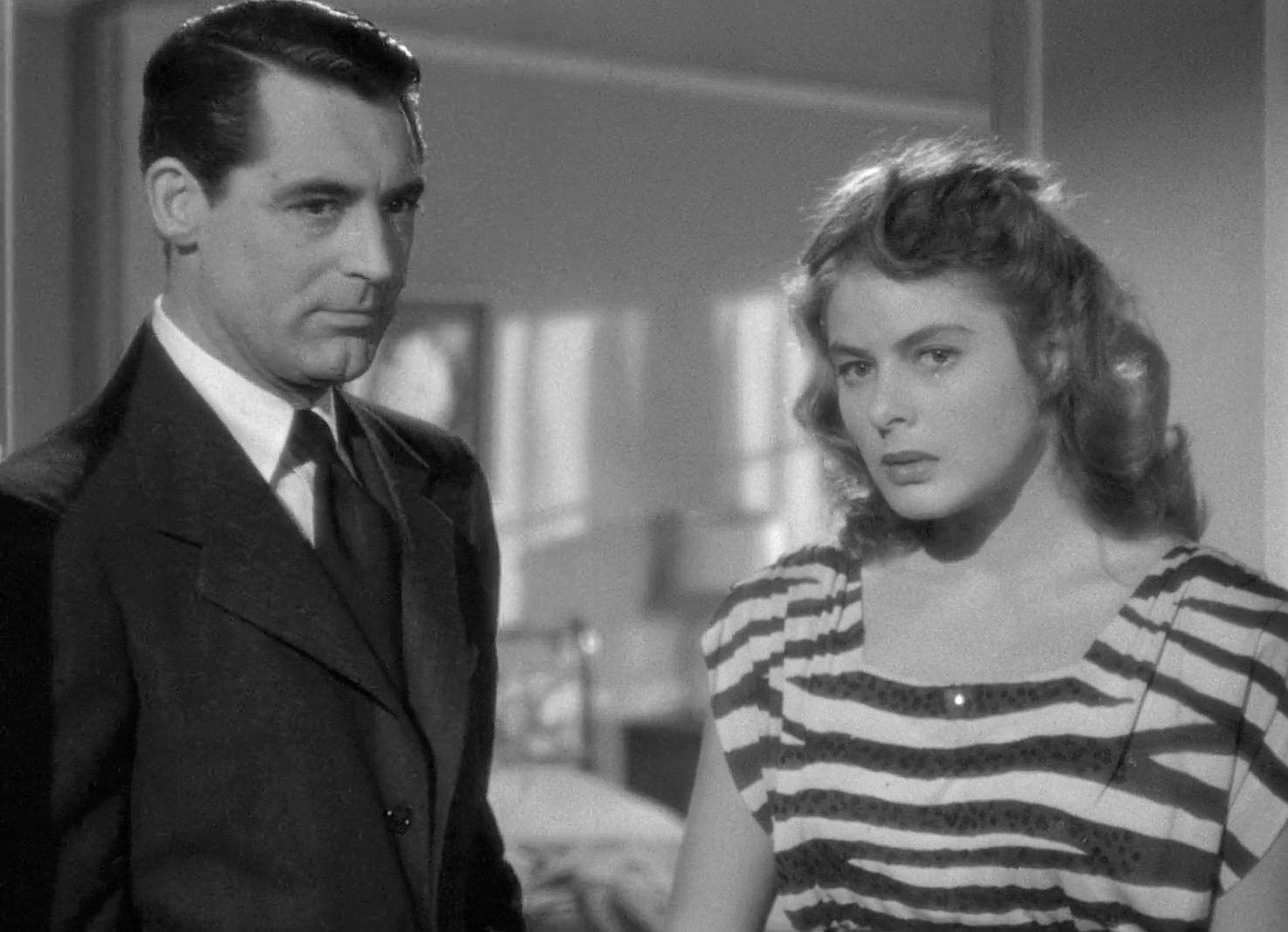 Notorious Ingrid Bergman Cary Grant