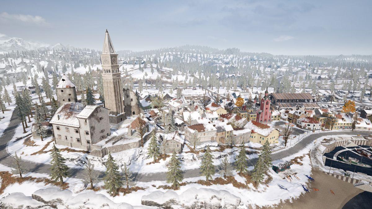 نقشهی جدید بازی PUBG رونمایی شد