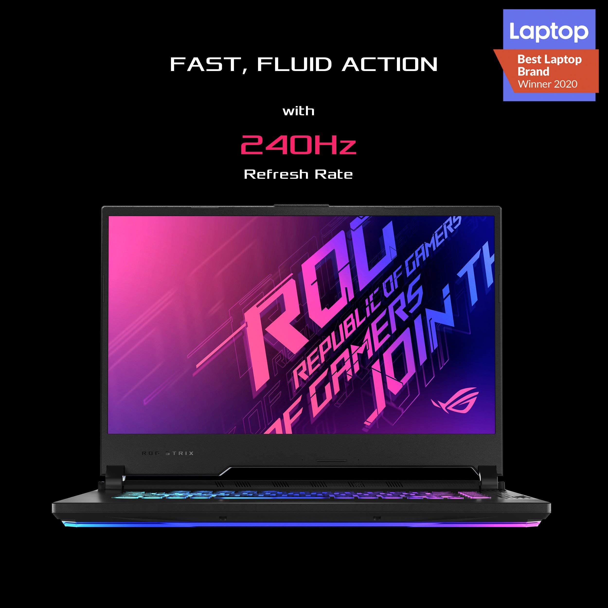 لپ تاپ آکبند ایسوس مدل Asus ROG Strix G512Lws-Az045T با مشخصات Intel Core i7 10750H - RTX 2070 Super دارای مهلت تست و گارانتی رایگان / محصول ASUS