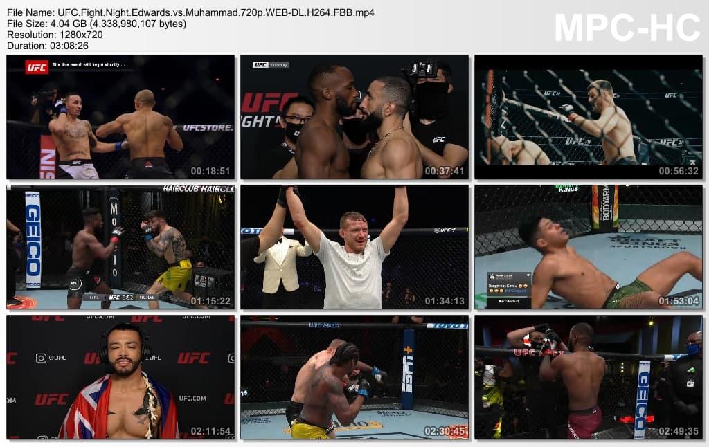 دانلود یو اف سی فایت نایت 187 | UFC Fight Night 187: Edwards vs. Muhammad