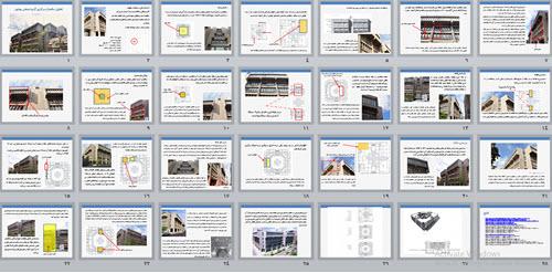 تحلیل ساختمان مرکزی گروه صنعتی بهشهر