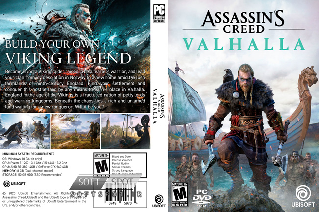 Assassins Creed Valhalla Cover