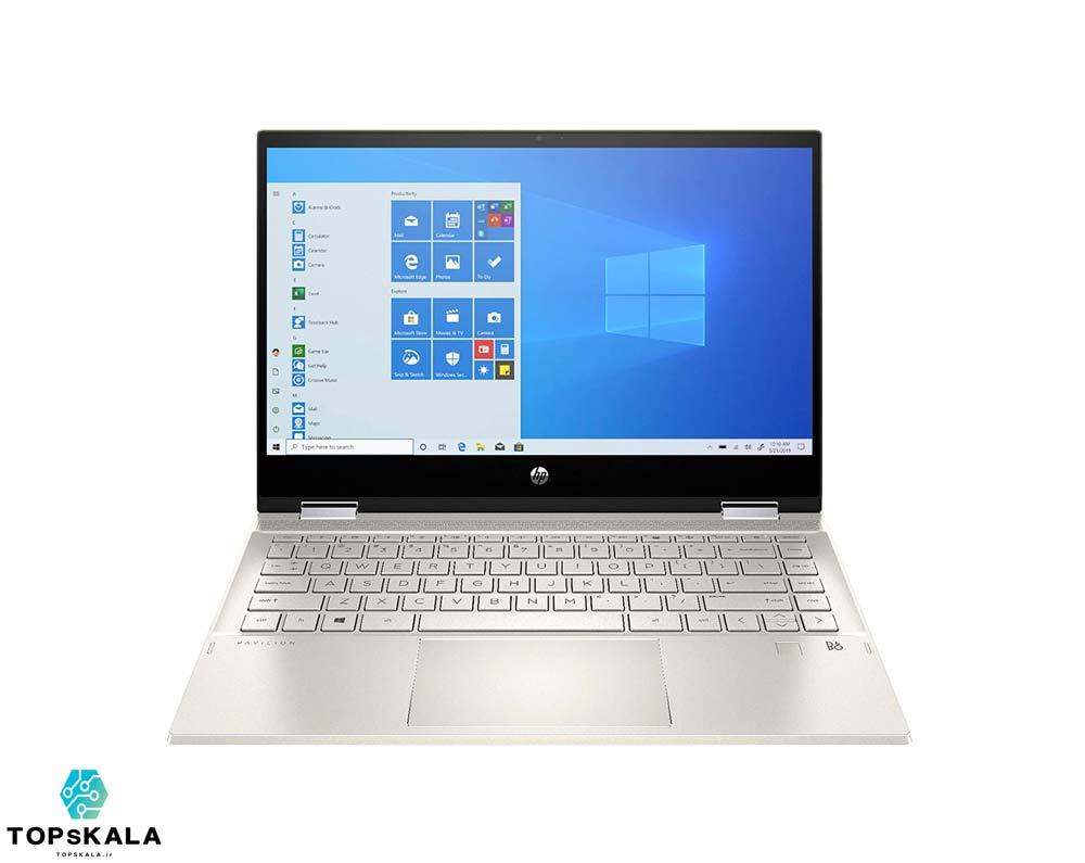 لپ تاپ آکبند اچ پی مدل HP Pavilion X360 14m-dw0 - پردازنده Intel Core i7 1065G7 با گرافیک Intel Iris