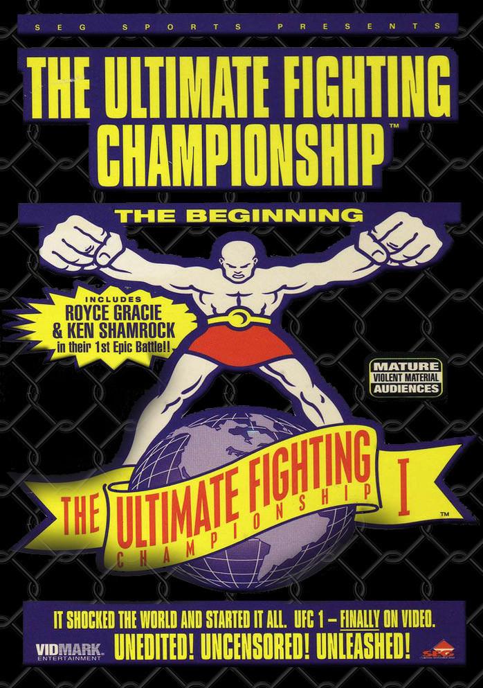 دانلود رویداد یو اف سی 1 | UFC 1: The Beginning-کیفیت عالی