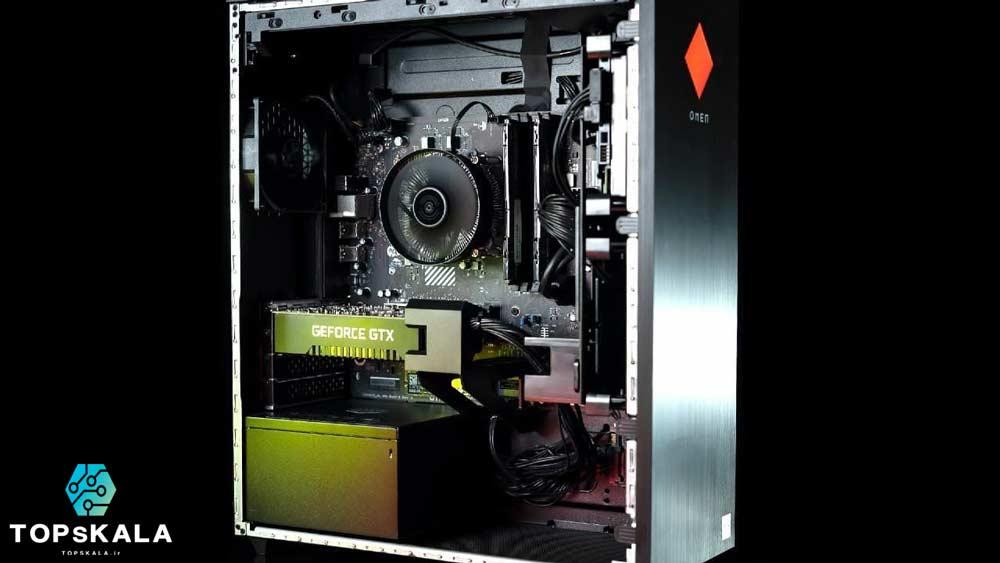 کامپیوتر آکبند اچ پی مدل HP Omen 25L GT512-0 با مشخصات Intel Core i7 10700K  و Nvidia GTX or RTX